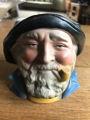 Vintage Fisherman Head  Pot • 8£