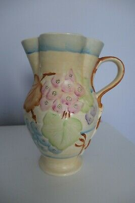 Hancock's Ivory Ware Large Jug, Hand Painted • 29.50£