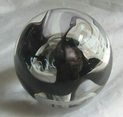 Caithness Scotland Glass Paperweight, MOON CRYSTAL  • 10£