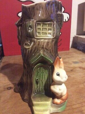 Fauna Vase, Withernsea Eastgate England Pottery, Rabbit, E90,Collectable Pottery • 12£
