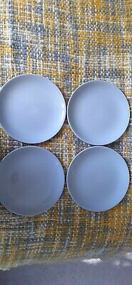 4 X Vintage Johnson Brothers Pale Blue Greydawn 6   Side Plates VGC • 7.99£