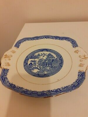 Antique Plates By Delphine China X 2 • 2.40£