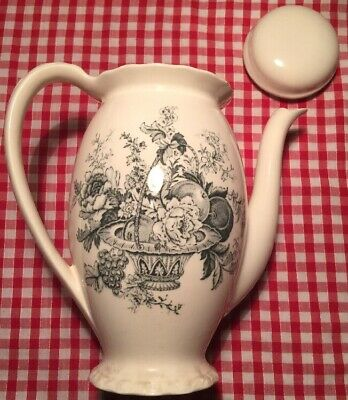 Vintage Myott Son And Co LTD Bountiful  Tea Pot  • 15£