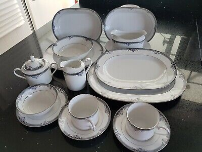 92 Piece Immaculate Noritake Squirewood Dinner Service • 250£
