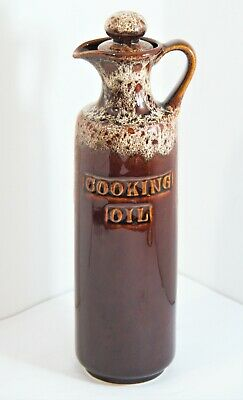 Vintage Fosters Pottery Cooking Oil Jar In Excellent Condition • 15£
