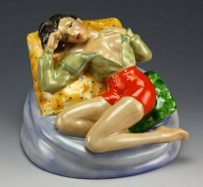 Peggy Davies / Kevin Francis Seductive Pillow Talk Figurine, Rare Artists Proof • 175£