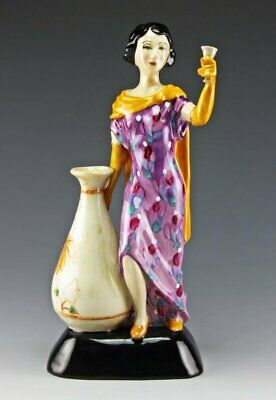 Peggy Davies / Kevin Francis Charlotte Rhead Figurine, Limited Edition 168/175 • 125£