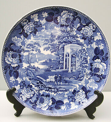 Wedgwood Landscape Pattern Circular Platter/plaque Blue And White  • 19.95£