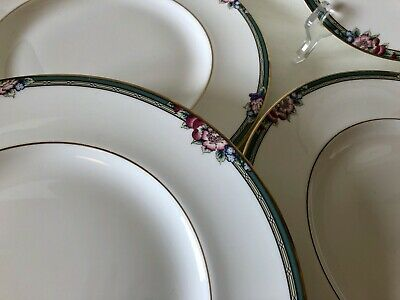 6 Royal Doulton Orchard Hill Dinner Plates - Great Condition • 26.99£