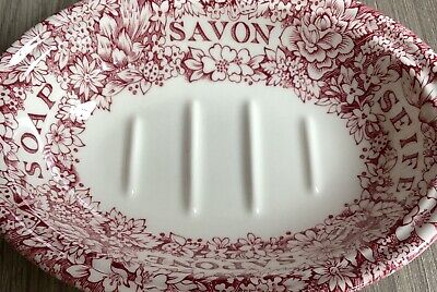 Masons For Crabtree & Evelyn Ceramic Soap Dish • 35£