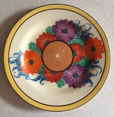Clarice Cliff Gayday Tea Plate • 125£