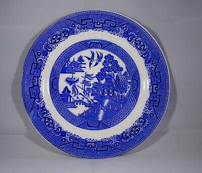 Solian Ware/ Soho Pottery ---collectors Plate----willow Design---good Condition • 1.50£