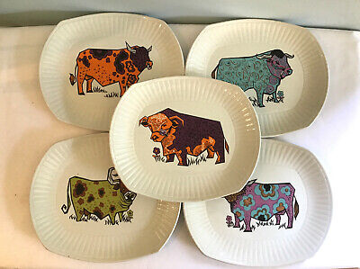 Vintage Retro 1970s English Ironside Pottery Beefeater Steak Dinner Plate • 14£