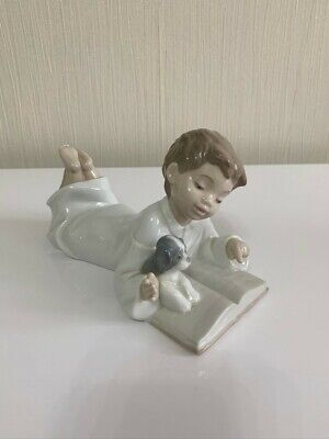 Nao By Lladro - Repeat After Me (Boy And Puppy) • 5£