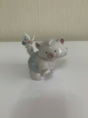 Nao By Lladro - That Tickles (Cat And Fairy) • 10.52£