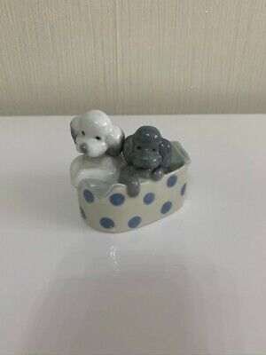 Nao By Lladro - Poodles And Dots (Puppies) • 5£