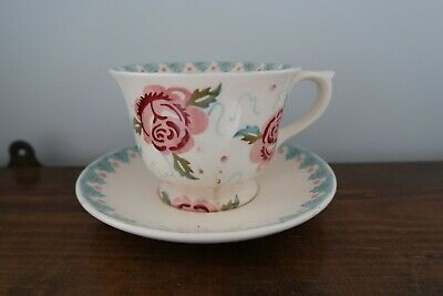 Lovely Emma Bridgewater Rose And Bee Cup And Saucer 1st • 10.50£