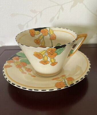Vintage Burleigh Ware Meadowlands Zenith Cup And Saucer • 12£