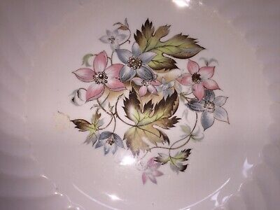 Vintage 3 Royal Wessex White Ironstone Plates By Swinnertons With  Floral Design • 15£