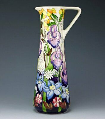Moorcroft Trewalkin Meadow Jug, Shape Ju3, Ltd Ed 21/50, Signed, 1st, Rrp £685 • 295£