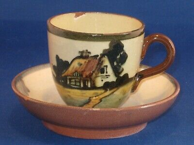 Crown Dorset Pottery Cup And Saucer>. • 9.99£