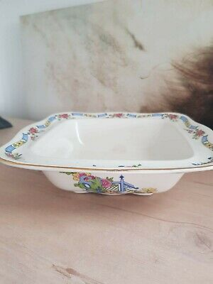 Vintage Lord Nelson Ware Square Bowl Mint • 25£