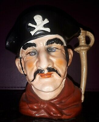 Vintage Character Pirate  Toby Jug 4 Inches  • 6£
