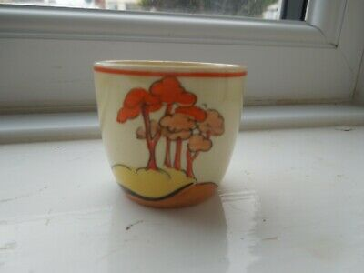 Clarice Cliff Coral Firs Egg Cup • 95£