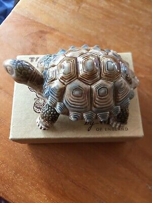 Wade Vintage Porcelain Tortoise Trinket Box, 10cm Long, Excellent Condition • 2.25£