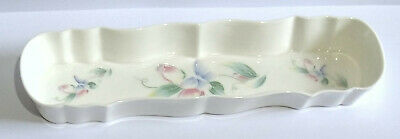 Aynsley Fine Bone China Decorative Little Sweetheart Long Tricket Jewellery Dish • 10.95£