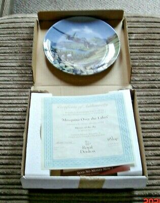 Royal Doulton Mosquito Over The Lakes Limited Edition Plate Boxed • 0.99£