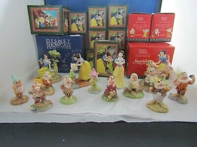 New Boxed Limited Snow White And The Seven Dwarfs Selection Royal Doulton Disney • 48£