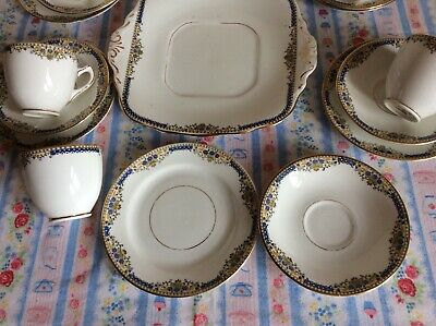 Vintage 1930 Sutherland Delicate & Pretty Tea Set For 6 1195  • 12£