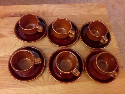 Fina Coffee Cups And Saucers • 2.99£