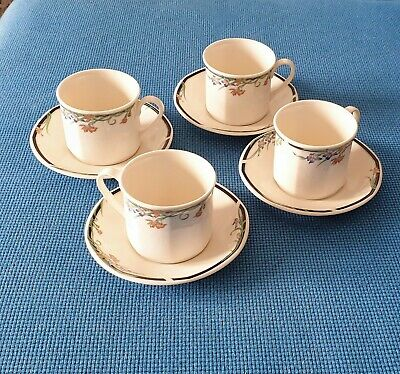 Royal Doulton *juno* Four Cups And Saucers #excellent Condition#  • 14.50£