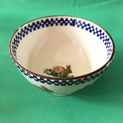 Brixton Pottery Rabbit Design French Bowl • 6.99£