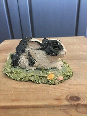John Beswick The Countryside Series Contentment Rabbit Ornament Unboxed • 10£
