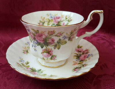 Royal Albert Moss Rose Tea Cup & Saucer --- Immaculate ***6---AVAILABLE*** • 4.99£