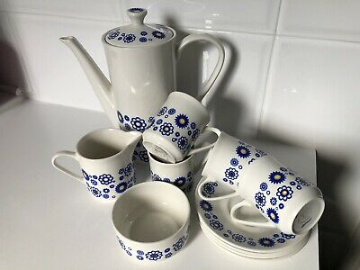 Lord Nelson Pottery Serenade Tea Coffee Set • 10£