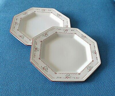 Johnson Bros  *madison* Two 10.6  Dinner Plates  #very Good Used Condition* • 12.95£