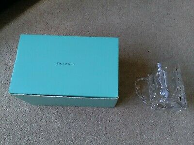 Tiffany & Co Crystal Beer Mug/Tankard - AS NEW/UNUSED & Original Box • 8.50£