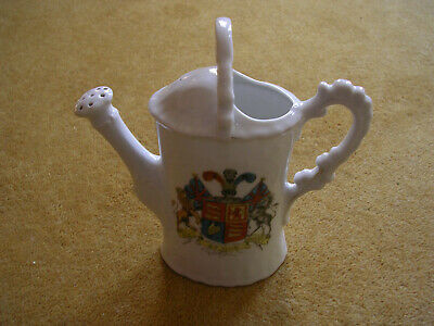 Dieu Et Mon Droit  Crested China Watering Can • 1.20£