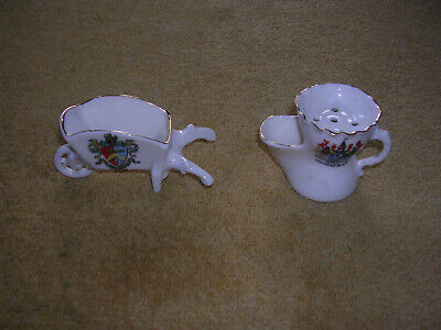 Two Pieces Of Czech-manufactured Crested China • 1.49£