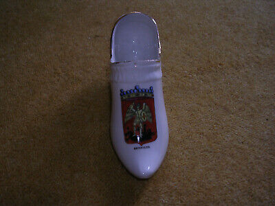 Marque Deposee China Clog With Bruxelles Crest • 1.49£