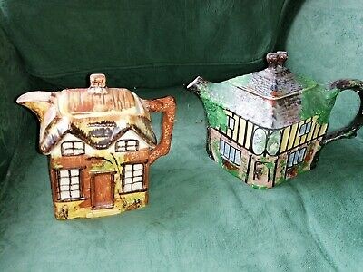 2 X Antique Teapots - Grimwades Ye Old Swan Inn And Price Bros • 3.99£
