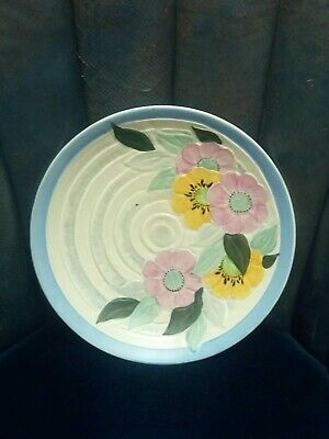 Hancock's Ivory Ware Hand Painted Art Deco Wall Plaque • 20£