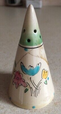 Clarice Cliff Conical Pepper Shaker • 35£