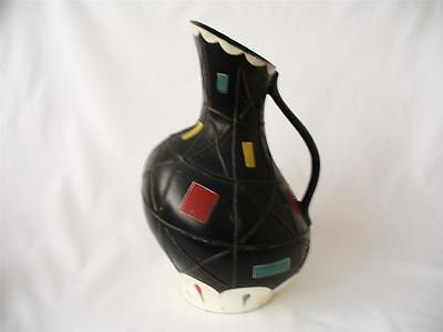 1950s Retro Vase - Brentleigh Ware Vase - Cortona Geometric Decoration • 39.99£
