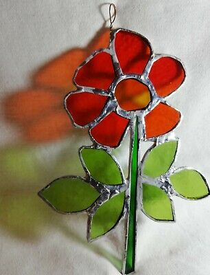 Stained Glass Flower • 12.95£