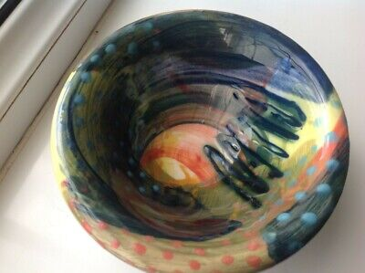Vintage Gwili Pottery Footed Bowl • 15£
